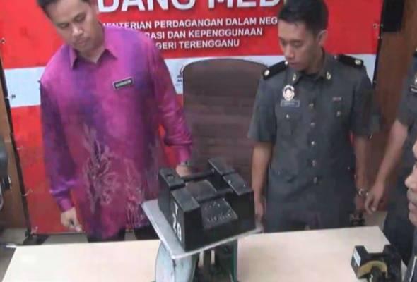 KPDNKK Terengganu membongkor kegiatan penipuan timbangan yang di jalankan peraih barangan lusuh.