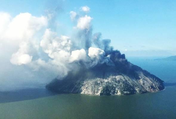 Amaran gunung berapi di Papua New Guinea
