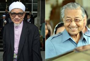Hadi Awang pengkhianat, kata Tun Mahathir