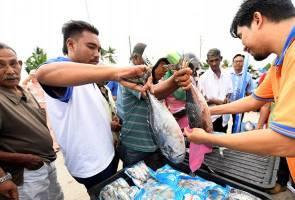 NEKMAT sedia 200 tan ikan sejuk beku Q'Fish di Kuala Kedah