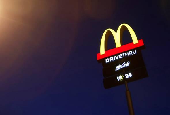 McDonald's Malaysia bayar zakat perniagaan RM1 juta