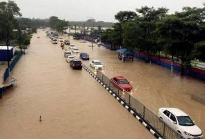 Mangsa banjir di Johor semakin berkurangan