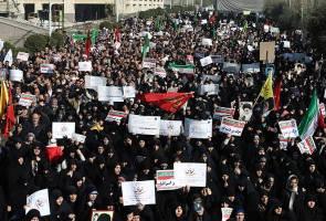 Tiada rakyat Malaysia terjejas dalam tunjuk perasaan di Iran