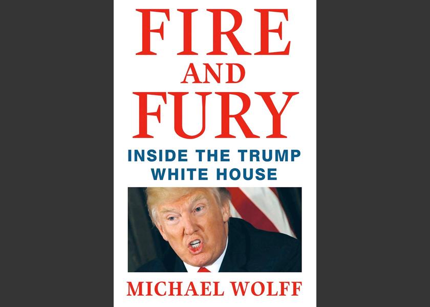 """Kandungan buku """"Fire and Fury: Insiden the Trump White House"""" dipercayai mengandungi dakwaan tidak benar mengenai pentadbiran Trump"""