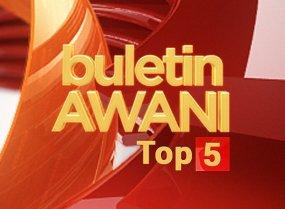 Buletin AWANI Top 5