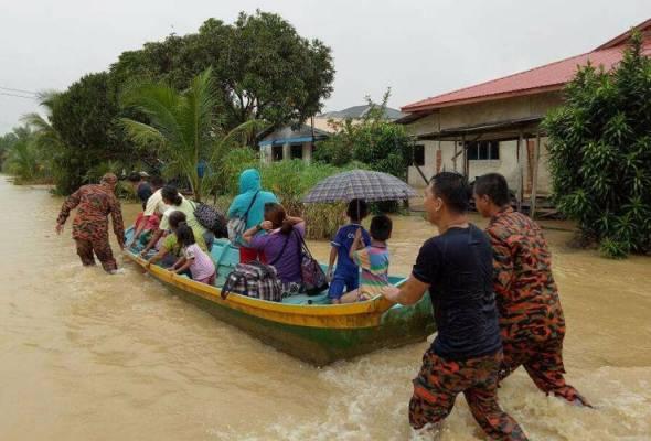 Banjir: 57 sekolah ditutup di Sarawak