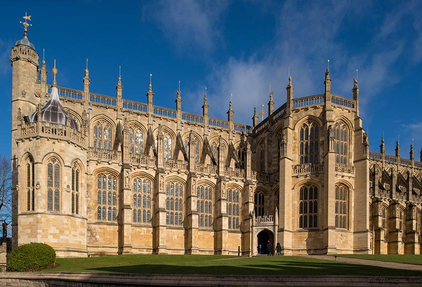 Putera Harry dan Meghan Markle bakal melangsungkan perkahwinan di Gereja St. George, Windsor Castle, Kensington Palace. - REUTERS