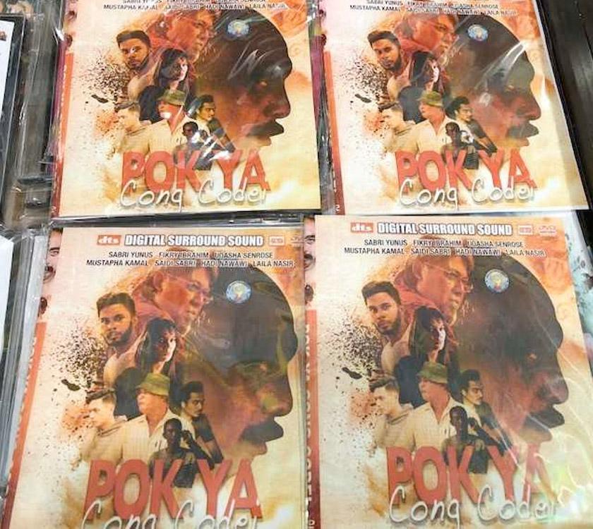DVD cetak rompak Pok Ya Cong Codei dijual di Kelantan