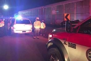 Kereta api bertembung di South Carolina, dua maut, 50 cedera