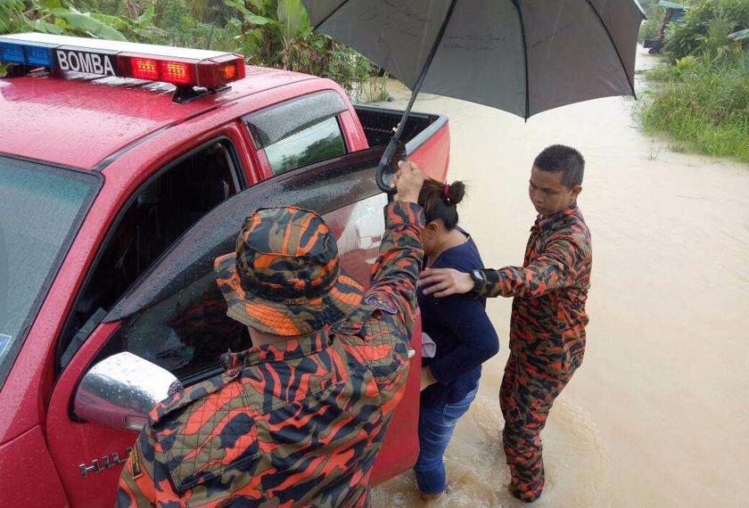 Keadaan banjir akan terus dipantau pihak berkuasa dari semasa ke semasa untuk menggerakkan bantuan sewajarnya. - JBPM