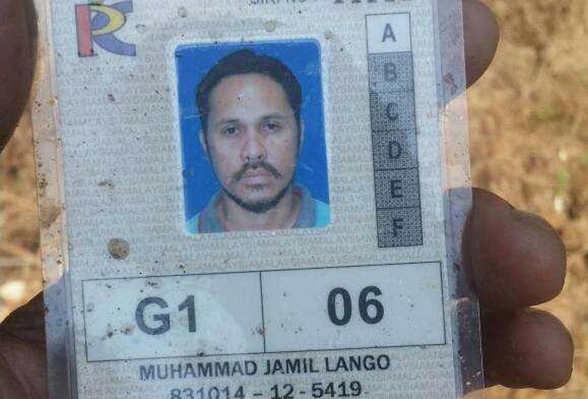 Mangsa, Muhammad Jamil Lango, 35 tahun.