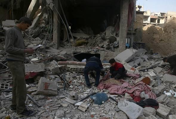 Semuanya gara-gara sikap bengis Bashar al-Assad yang mengumumkan telah menyekat sebarang dan apa sahaja misi bantuan kemanusiaan dari masuk
