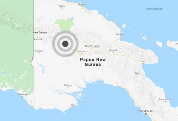 Gempa bumi 7.5 magnitud melanda Papua New Guinea