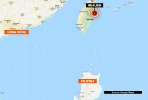 Gempa bumi cetek gegarkan pantai timur Taiwan