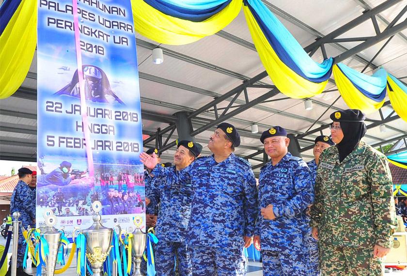 Naib Canselor UUM mahu semua anggota beruniform amalkan tadbir urus yang baik - Foto AWANI Rangers UUM