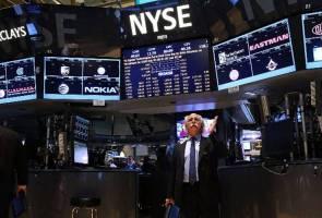 Bursa Dow Jones menjunam lagi, terus cetus panik di kalangan pelabur
