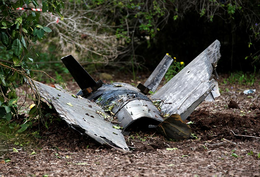 Antara serpihan peluru yang digunakan untuk menembak jatuh pesawat pejuang F-16 tentera Syria. - Foto: REUTERS