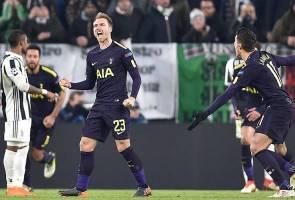 Spurs ikat Juve 2-2 di Turin