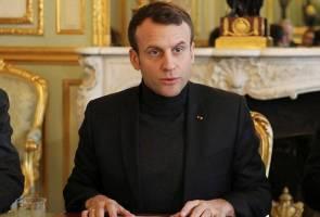 Perancis akan serang Syria jika terbukti wujud penggunaan senjata klorin