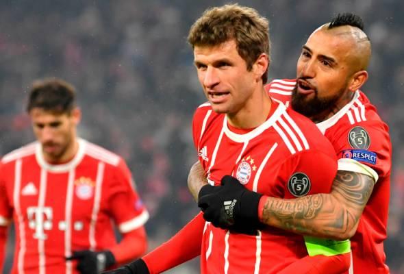 Slot suku akhir dalam genggaman Bayern