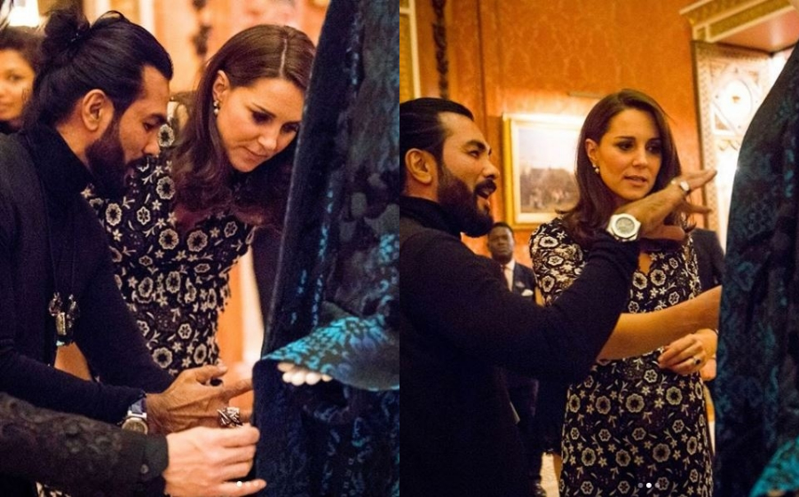 Wow! Kate Middleton kagumi ciptaan Bernard Chandran