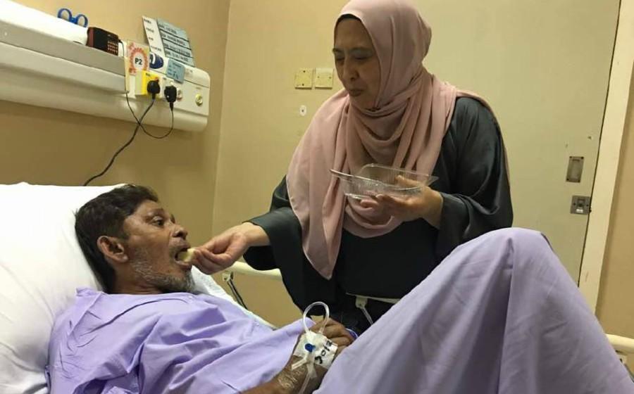 'Kepala rasa nak pecah, ada ketulan darah beku' - Saleem masuk hospital
