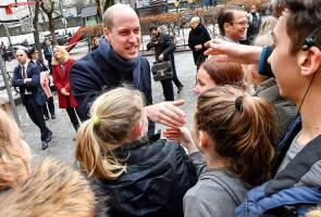 Putera William puji Sweden, kanak-kanak negara itu banyak beriadah walaupun musim sejuk