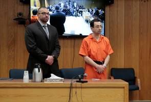 Kes cabul atlet wanita: Larry Nassar dihukum penjara 125 tahun lagi