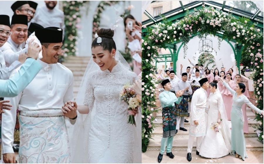 Foto-foto pernikahan SM Faliq Nasimuddin dan Chryseis Tan, manis habis!