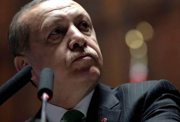 'Netanyahu, kau pengganas!', kata Erdogan