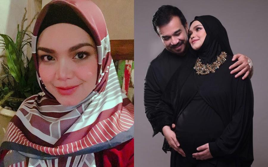 Kaki mula bengkak, peminat jangka Siti Nurhaliza bersalin tidak lama lagi