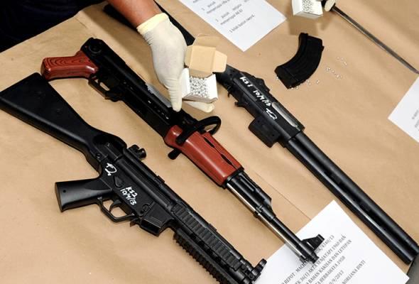 Miliki senjata api tiruan boleh dipenjara seumur hidup!