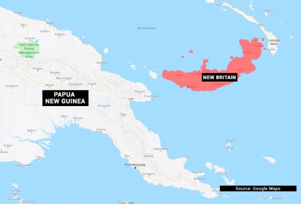 Gempa bumi 6.9 magnitud gegarkan perairan Papua New Guinea - USGS