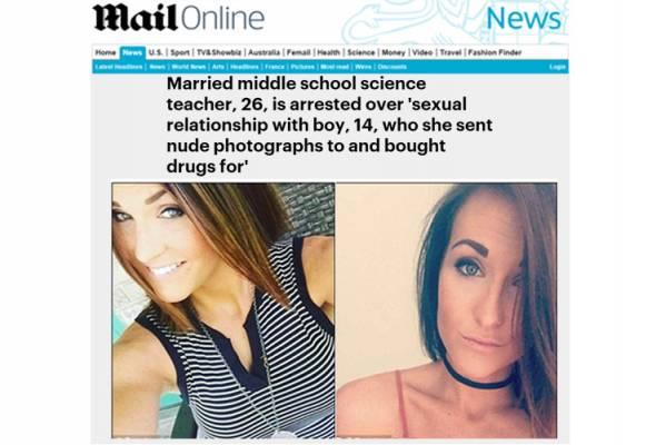 Guru ditahan hantar gambar bogel, adakan hubungan seks dengan pelajar 14 tahun