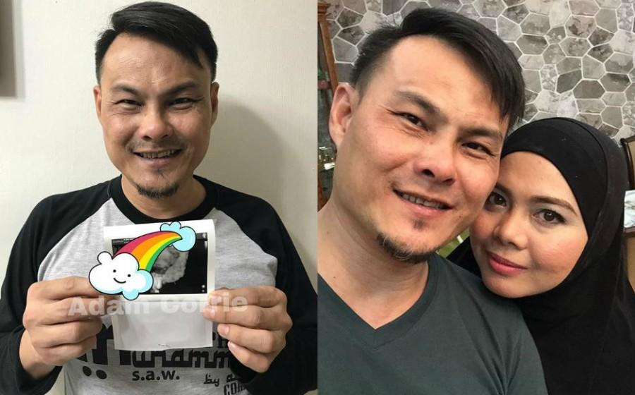 Bakal bergelar bapa, luahan Adam Corrie selepas 10 tahun penantian buat netizen sebak