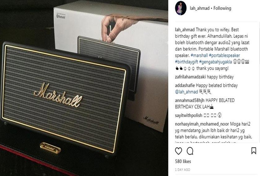 Instagram Lah Ahmad