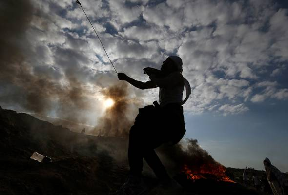 Palestin tolak rampasan tanah oleh Israel