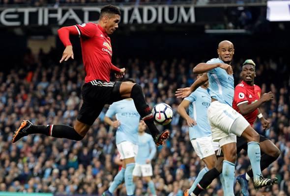 Manchester United musnahkan harapan Manchester City