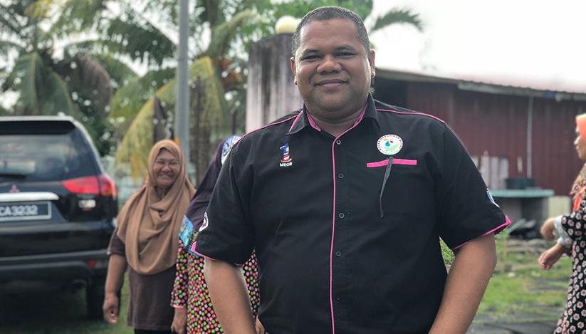 Meor Shamsir percaya golongan asnaf harus diberi peluang untuk menyumbang kepada komuniti. - Astro AWANI/Marlina Manaf