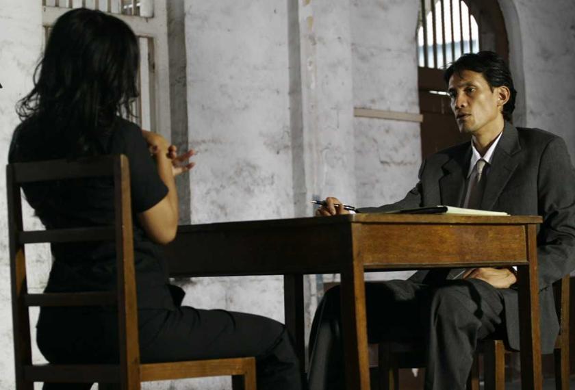 Faizal Hussein punya kredibiliti tersendiri sebagai peguam bela bernama Karim.