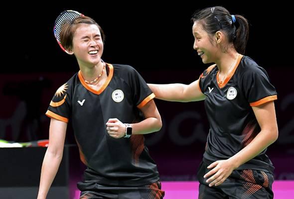 Badminton: Vivian-Mei Kuan lengkapkan pingat emas ketujuh