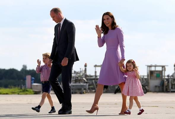 Kate Middleton dimasukkan ke hospital, bakal lahir bayi ketiga