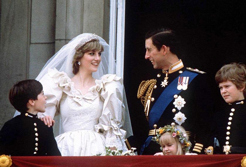 Diana dan Charls berkahwin pada 29 Julai 1981, dalam satu upacara perkahwinan yang disaksikan secara langsung oleh lebih 750 juta penonton.