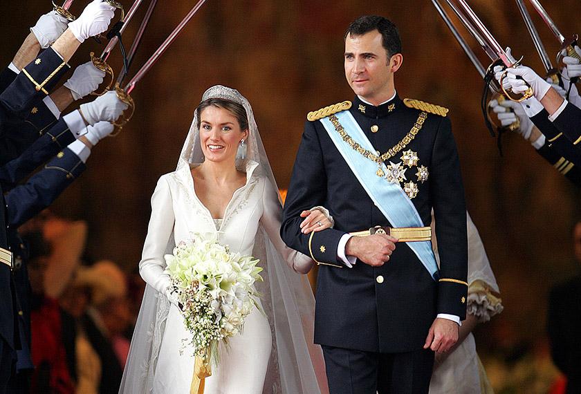 Raja Felipe dilaporkan merupakan peminat setia Ortiz sejak sebelum mereka menjalinkan hubungan.