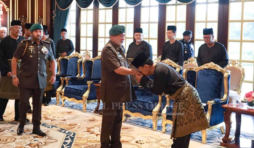 Osman mendapat restu daripada Sultan Johor, Sultan Ibrahim Sultan Iskandar untuk menjawat jawatan Menteri Besar Johor ke-16.