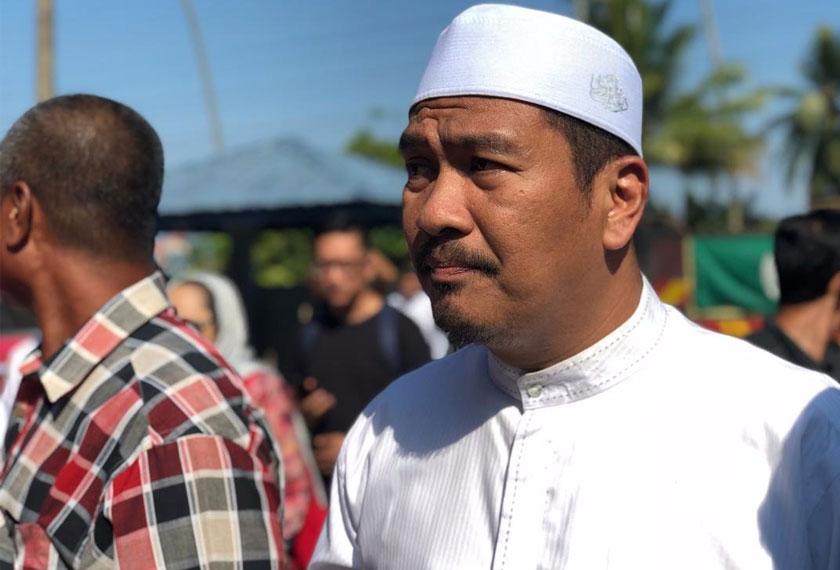 Ahmad Dusuki Abd Rani yang juga anak saudara kepada Allahyarham Nik Aziz.