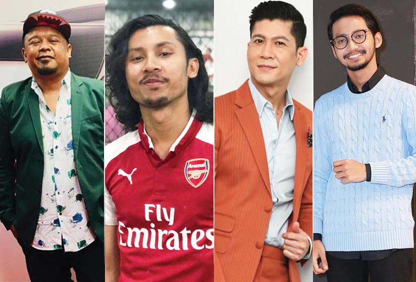 Dari kiri Cat Farish, Luqman Hafidz, Zarul dan Sufian Suhaimi.