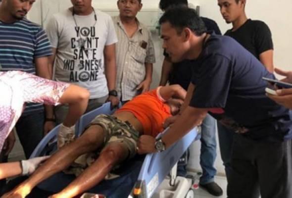 Polis tembak kaki perogol