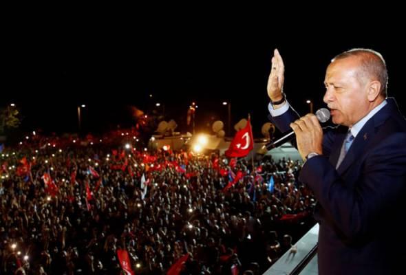 Erdogan menang pilihan raya Turki