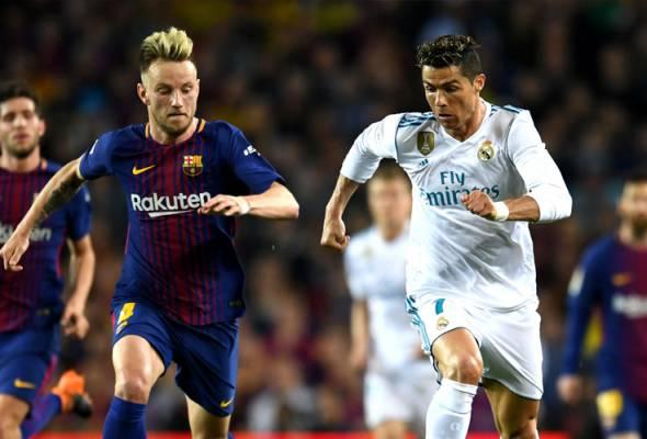 Ronaldo tinggalkan Madrid buat Rakitic ceria